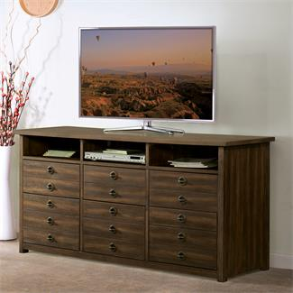 Perspectives Entertainment File Cabinet I Riverside Furniture