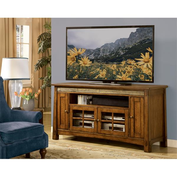 Craftsman Home 62 Media Console: Craftsman Home 62-Inch TV Console
