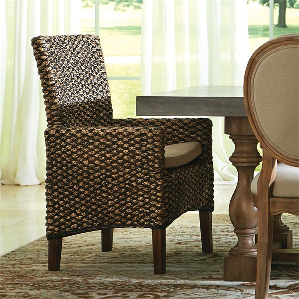 Tables N Chairs: Mix-N-Match Chairs Woven Arm Chair