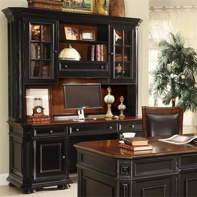 Allegro Credenza And Hutch I Riverside Furniture